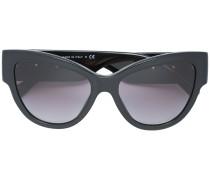 Oversized-Sonnenbrille mit Medusa-Motiv