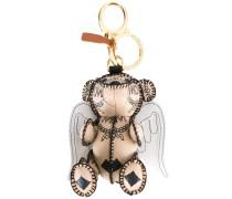 Schlüsselanhänger mit Teddybär-Amor