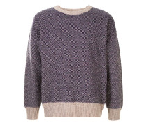 Pullover mit Tribal-Muster