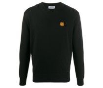 Pullover mit Tiger-Patch