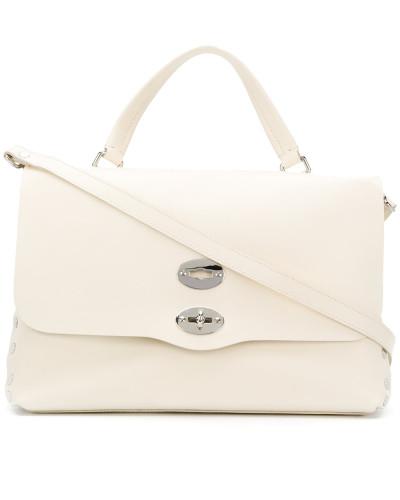 Zanellato Damen Handtasche mit Drehverschluss