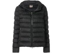 Strange padded jacket