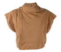Kurzärmelige Cropped-Jacke