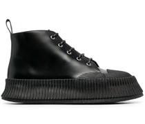 Sneaker-Boots aus Leder