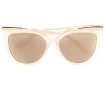 'Cat Eye Rim' Sonnenbrille - women