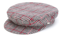 houndstooth baker boy hat - Unavailable