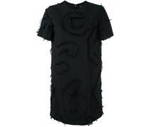 Besticktes Kleid mit Fil Coupé