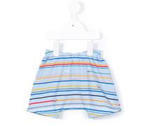 Gestreifte Shorts - kids - Baumwolle/Elastan