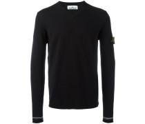 Pullover mit V-Ausschnitt - men - Baumwolle - XL