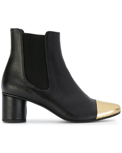 toe-cap ankle boots