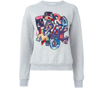 Sweatshirt mit Logo-Patches