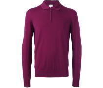 Poloshirt mit langen Ärmeln - men - Wolle - 56