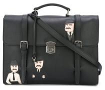 Sicilian Men patch messenger bag