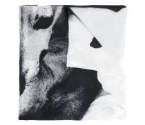 Seidenschal mit Hunde-Print - women - Seide