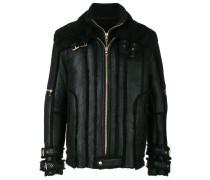 shearling lined aviator jacket