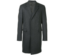 concealed buttoned coat