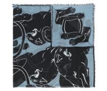 ' Garavani' Schal mit Panther-Print