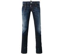 Jeans mit Zierkette