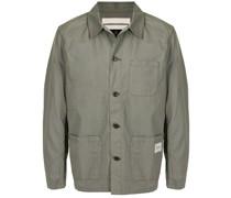 Hemdjacke mit aufgesetzten Taschen