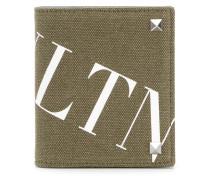 logo print cardholder