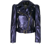 L-Sunset biker jacket