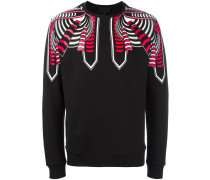Sweatshirt mit Tribal-Print