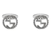 Interlocking G cufflinks
