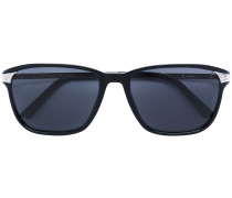 square frame tinted sunglasses
