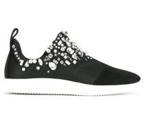 Slip-On-Sneakers mit Schmucksteien