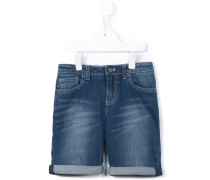 Jeansshorts im Used-Look - kids
