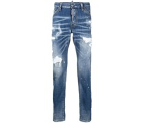 Schmale 'Icon' Distressed-Jeans