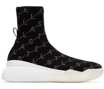 Sock-Sneakers mit Logo