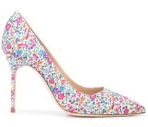 BB floral pointed pumps