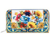 Portemonnaie mit Kachel-Print