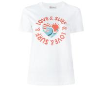 """T-Shirt mit """"Love & Surf""""-Print - women"""