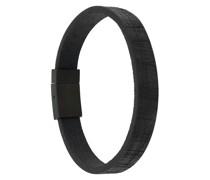 'Carbon Fibre Flat' Armband