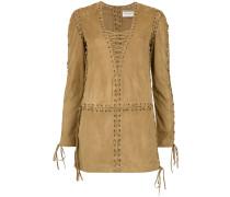 laced caftan dress
