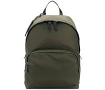 glossy effect backpack