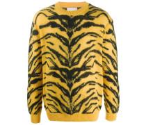 tiger knit jumper