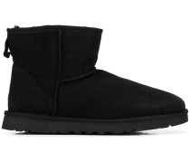 Stiefel mit Faux Shearling