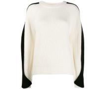 Pullover mit drapierten Ärmeln