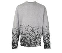 'Burn Out' Sweatshirt in Distressed-Optik