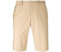 Chino-Shorts mit Reißverschluss