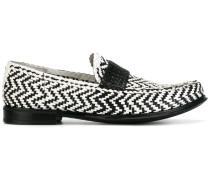 - Loafer mit Flechtmuster - men