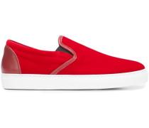 Slip-On-Sneakers aus Samt