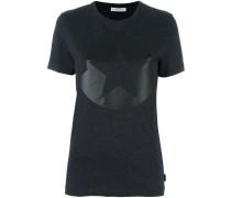 T-Shirt mit Sternen-Logo-Print