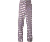 Pyjamahose mit Print