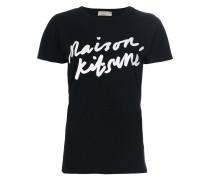 T-Shirt mit Logo-Schriftzug