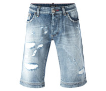 'Fake Friend' Jeans-Shorts