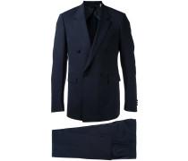 - Doppelreihiger Anzug - men - Elastan/Lammwolle